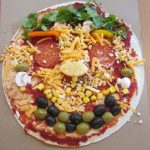 Year 5 make healthy pizzas