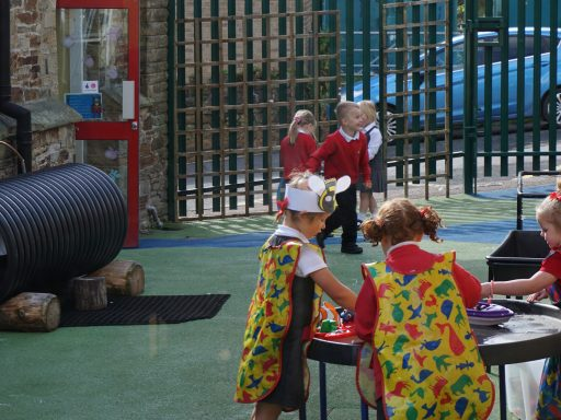 Reception class play area