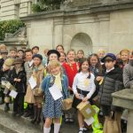 Year 5's trip back in time