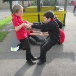 Year 5 receive Playground Leader Training