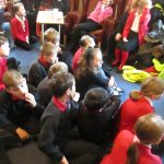 Year 5 entertain the elderly