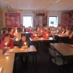 Year 5 make Christingles