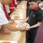 Change for Life - Healthy Pizza making