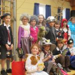 New Mills Primary School does World Book Day...a little late!
