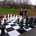 Giant Chess Set Grand Opening!