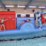 New Mills Leisure Centre's new inflatable!!