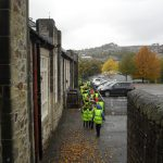 Years 4 & 5 Visit the Gardens at New Mills School